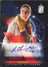2016 Doctor Who Timeless Red Foil Parallel Autograph Ingrid Oliver Osgood 01/10!