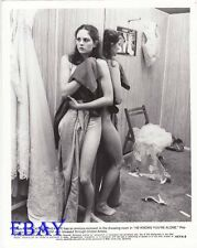 Caitlin O'Heaney leggy barefoot VINTAGE Photo He Knows Your Alone