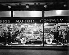 Pontiac 1939 Plexiglass Deluxe Ghost Car in Dealer Window  8 x 10  Photograph