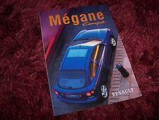 Prospectus / Brochure RENAULT Megane Coupé 1998 //