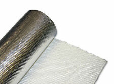 Exhaust Turbo Heat Shield Wrap Mat 500mm x 500mm - Foil Backed Glass Fibre