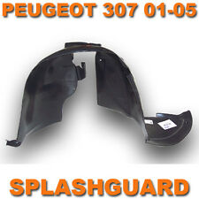 PEUGEOT 307 01-05 RIGHT DRIVERS FRONT WHEEL ARCH LINER INNER WING SPLASHGUARD