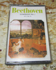 CASSETTE:The MUNICH PHILHARMONIC ORCHESTRA~Beethoven:Symphony No. 1 in C~1 OWNER