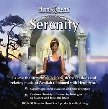 SERENITY HEMI-SYNC MONROE PRODUCTS THETA MUSIC CD NEW MEDITATION/RELAX GENTLE
