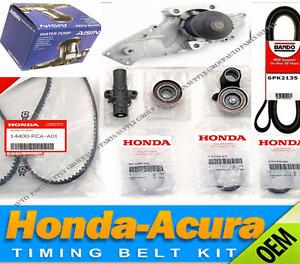 Genuine / Aisin OEM Timing Belt & Water Pump Kit Honda/Acura V6 Factory Parts!