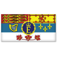 "CANADA Canadian Flag Royal Standard car sticker 5"" x 2"""