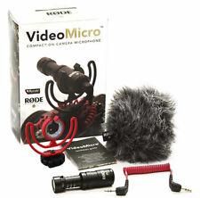 Rode Videomicro kompaktes Kondensator Richtmikrofon Kamera Mikrofon