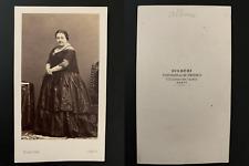 Disdéri, Paris, Marietta Alboni Vintage cdv albumen print - Maria Anna Marzia