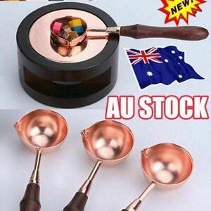 Wax Seal Kit Warmer Melting Spoon Kit Sticks Furnace Tool for Sealing Stamp