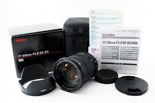 Sigma DC 17-50mm F/2.8 EX HSM OS for Sony / Minolta w/ Box [N Mint] From Japan