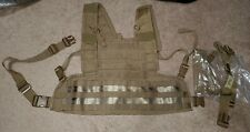 USMC Coyote Brown RRV Rhodesian Recon Vest New Set