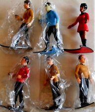 Set 6 action figures STAR TREK 1991 by Hamilton (5 new in blister)