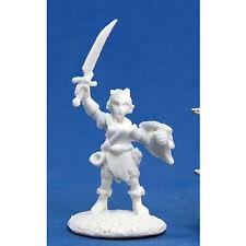 RPG Miniatures Reaper Minis Dark Heaven Bones: Elliwyn Heatherlark, Gnome Bard