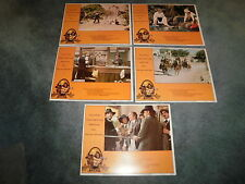 CATTLE ANNIE & LITTLE BRITCHES(1981)BURT LANCASTER LOT OF 5 ORIG LOBBY CARDS