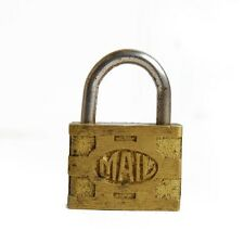 30% OFF - Vintage Brass Mail Lock, Padlock E1541