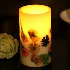Flower Battery Operated Candles & Tea Lights