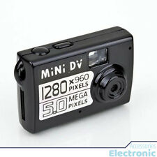 5MP Micro Smallest Portable Camera - Mini DV Digital Camera Video Recorder Black