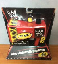 2010 WWE Ring Action Megaphone - New & sealed
