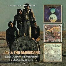Jay & the Americans - Sands of Time / Wax Museum / Capture the Moment [New CD] U