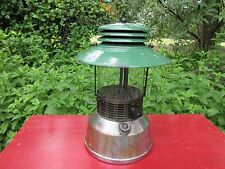 Vintage Antique Rare Akron Model 134G Lantern with Coleman Green Sunrise Globe
