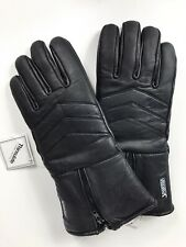 Spartan Men's Leather Thinsulate Winter Gloves ~Size Large ~ Black w/Zipper Cuff