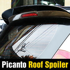 Rear Window Wing Roof Spoiler Aero Parts Painted For KIA 2011-2016 2017 Picanto