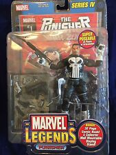 Marvel Legends Series IV The Punisher War Zone Action Figure Comic Sealed Free S