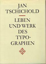 Leben und Werk des Typographen Jan Tschichold Typografie Design Schrift Bauhaus