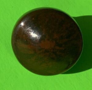 "@1820  3/4"" Antique Hardware Federal Empire Mahogany Cabinet Knob  Drawer Pull"
