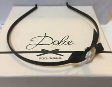 Dolce &  Gabbana  Headband Women/ Girls. NIB
