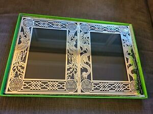 Shanghai Tang Dragon and Phoenix Double Photo Frame (NEW) - Retail $248