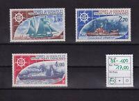 MiNr.  98 - 100       ..  Franz. Geb. i. d. Antarktis ... Postfrisch