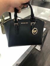 NWT Michael Kors Ciara Medium Messenger Crossbody Satchel Leather Bag