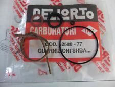 DELLORTO SHBA 12 GUARNIZIONI CARBURATORE GASKET KIT CARBURETOR DELL'ORTO 5258077