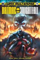 DARK MULTIVERSE BATMAN KNIGHTFALL #1 Alan Quah Variant Batman 497 Homage LTD 600