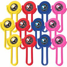 Power Rangers Ninja Steel Disc Shooters Birthday Decoration Party Supplies ~12ct