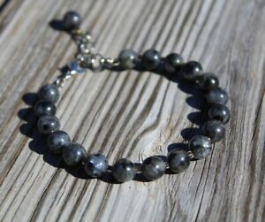 Labradorite Bracelet Crystal Energy  Hand-crafted in USA
