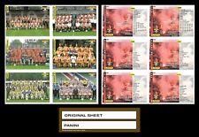 1994 PANINI ORIGINAL Uncut Sheet. AJAX FEYENOORD TWENTE Voetbal Cards 94