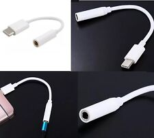 New USB Type C to Aux 3.5mm Adaptor Headphone Jack for Samsung OnePlus Google