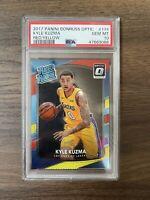 2017-18 Donruss Optic Kyle Kuzma 174 RC Rookie Red Yellow Lakers 🔥 PSA 10 V67