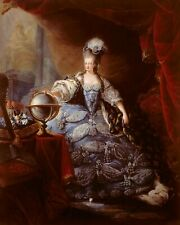 Queen Marie Antoinette Wife King Loius XVI France Painting Canvas Art Print