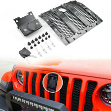 Hood Lock Anti-Theft Security Device fits 2018+ Jeep Wrangler JL (Come with Key)