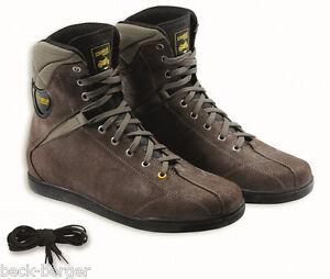Ducati TCX Scrambler Cross Country Semi-High Boots Shoes Braun New