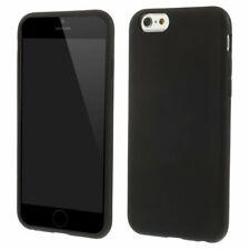 iPhone 6 & 6s siliconen hoesje - zwart