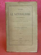 LE NATURALISME CONTEMPORAIN - Dom Prosper GUERANGER - LE PRINCE DE BROGLIE -1858