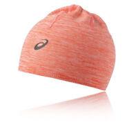 Asics Unisex Seamless PFM Beanie Orange Sports Running Warm Breathable