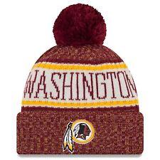 Washington Redskins Knit Hat 2018 Nfl Sideline Cold Weather New Era Official