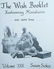 "Miniature Furniture Clothing Patterns Medieval Times Fit 5 1/2""Doll & Heidi Ott"