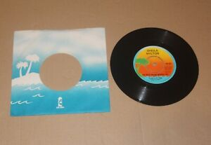 """Sheila Hylton - The Bed's Too Big Without You, 7"""" single UK 1980 (WIP 6671) Ex"""
