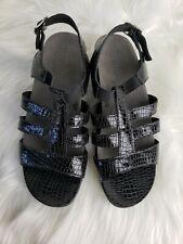SAS Sandals ALLEGRO Black Size 7 W Leather Straps Excellent condition $143